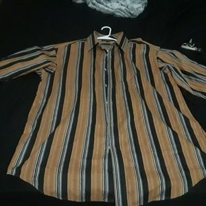Sean Jon Long Sleeve Button Up 3Xl